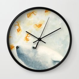 Try not to breath Wall Clock