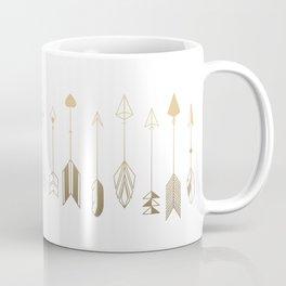 Be Brave Little Arrow (gold) Coffee Mug