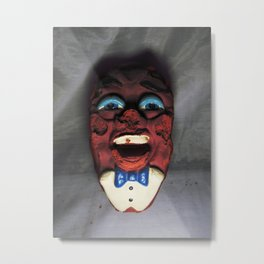 Necrotic California Raisin Nightmare Fuel Metal Print