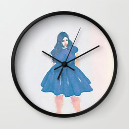 Isabella Grey Wall Clock