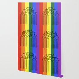 LGBTQ + Rainbow Love is Love Wallpaper