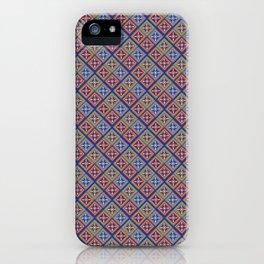 Red blue Itak iPhone Case