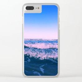 Rose ocean Clear iPhone Case