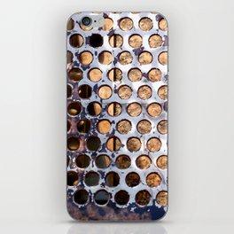More Metal Dots iPhone Skin