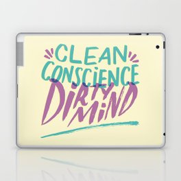 Clean/Dirty Laptop & iPad Skin