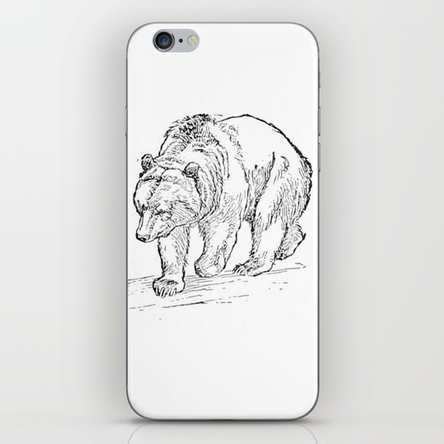 Bear iPhone Skin by upopot
