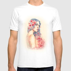 Demeter MEDIUM Mens Fitted Tee White