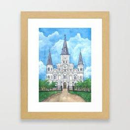 Jackson Square, New Orleans Framed Art Print