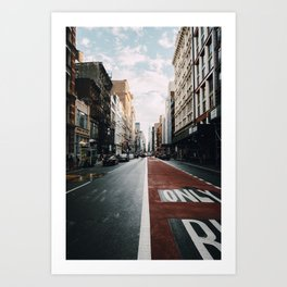 Big City, Bigger Dreams Art Print