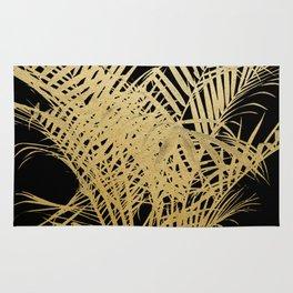 Golden Palms Rug