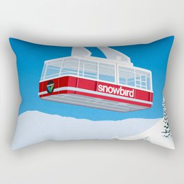 Snowbird Ski Resort Rectangular Pillow