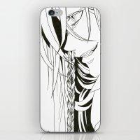 kuroshitsuji iPhone & iPod Skins featuring Kuroshitsuji Undertaker by Reira Hoshikuzu