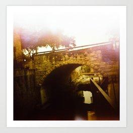 Burned Bridges Art Print