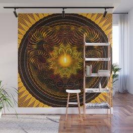 Zodiac Mandala Aries Wall Mural