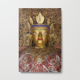 The Maitreya Buddha Metal Print