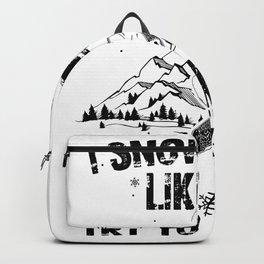 Snowboard Grandpa | Snowboarding Snowboarder Gifts Backpack