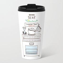 Brown Bear Kitchen Conversion Chart - temperature Travel Mug
