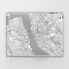 Liverpool Map Line Laptop & iPad Skin