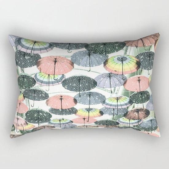 It may rain Rectangular Pillow