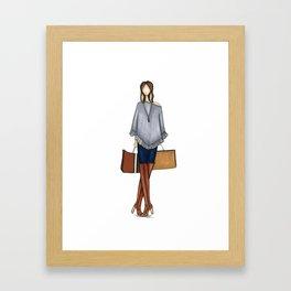 Keaton Fall  Framed Art Print