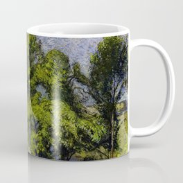 Chestnut Trees above a River Coffee Mug
