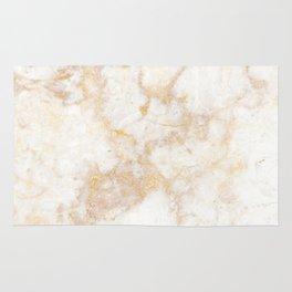Gold Marble Natural Stone Veining Quartz Rug