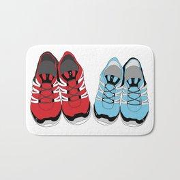 Sporty Shoe Love Bath Mat