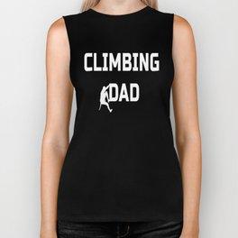 Climbing Dad Biker Tank
