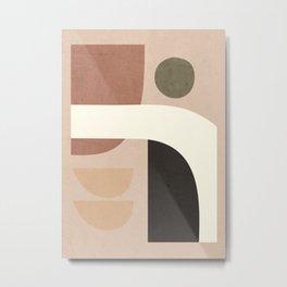 Abstract Art / Shapes 41 Metal Print