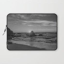 Beachin Life - b&w- Laptop Sleeve