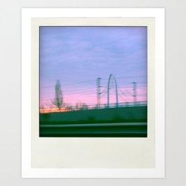 photo by car #1 Art Print