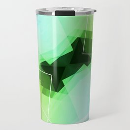 Revive - Geometric Abstract Art Travel Mug