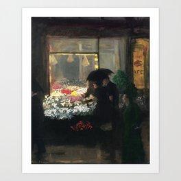 American Masterpiece 'Easter Eve' Washington Square, NY by John French Sloan Art Print