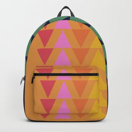 Day and Night Rainbow Triangles Backpack