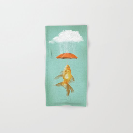 Fish Cover Hand & Bath Towel