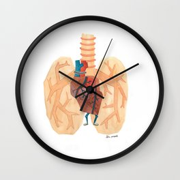Pooped Wall Clock
