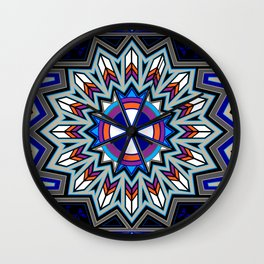 Butterfly Nation Wall Clock