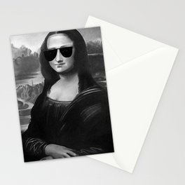 BE COOL -  Mona Lisa Stationery Cards