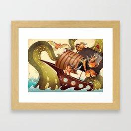 MEOWRRRRRRH!!! Framed Art Print