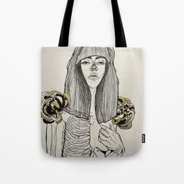 Mourning Lingerie Tote Bag