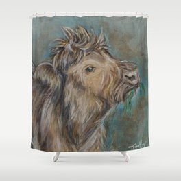 Baby Coo Shower Curtain