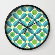 Citrus: Lime Grove Wall Clock