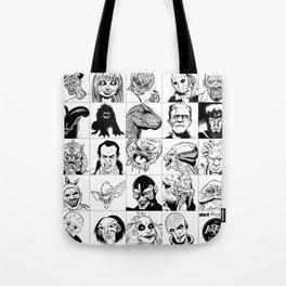 Inktober Monsters Tote Bag