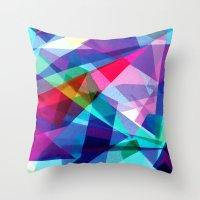 architecture Throw Pillows featuring Architecture by Rachel Stewart Design