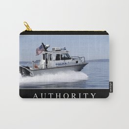 Authority: Inspirational Quote and Motivational Poster Carry-All Pouch
