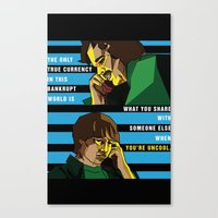almost famous Canvas Prints featuring When You're Uncool: Almost Famous by Margaret Andersen