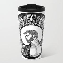 Halo Man Metal Travel Mug