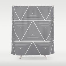Origami Shower Curtain