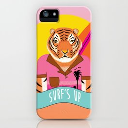 Surf's Up - whistleburg iPhone Case