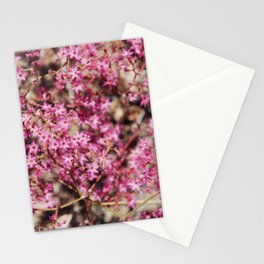 Tiny Pink Flowers Stationery Cards